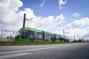 Nové tramvaje Urbos 100 od CAF v Lundu. Foto: Lund Kommun