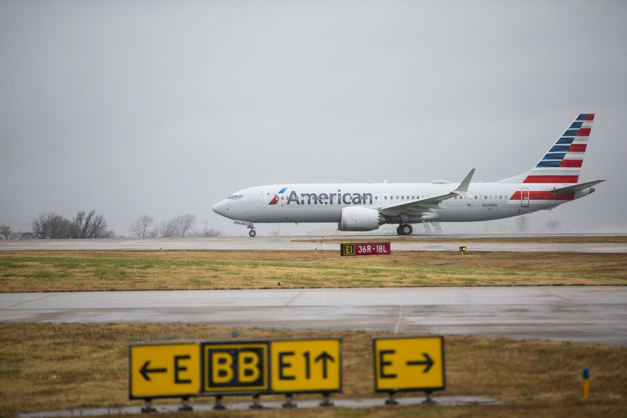 Boeing 737 MAX 8 v barvách American Airlines. Foto: AA