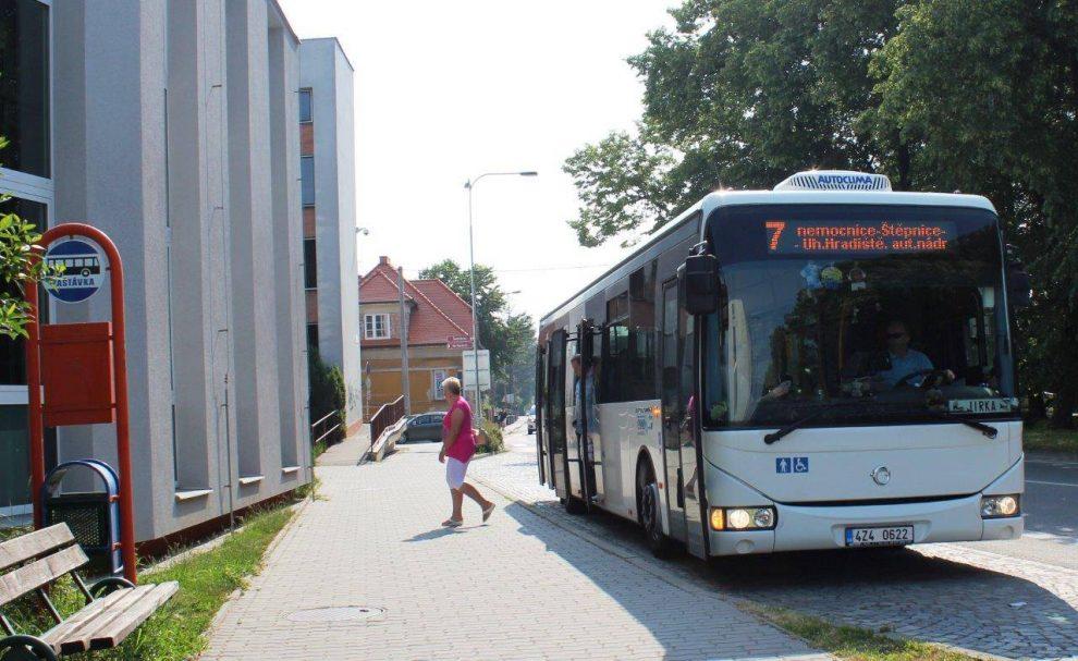 Autobus MHD v Uherském Hradišti. Foto: FB Uherského Hradiště