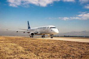 Embraer E195 společnosti Montenegro Airlines. Foto: Montenegro Airlines