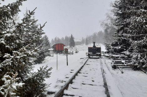 Pošumavská jižní dráha jako nejkratší mezinárodní železnice světa. Pramen: archiv Pavla Kosmaty