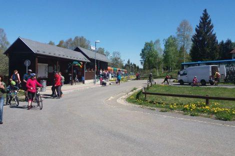 Nové Údolí dnes láká mnoho turistů, především v létě. Pramen: archiv Pavla Kosmaty
