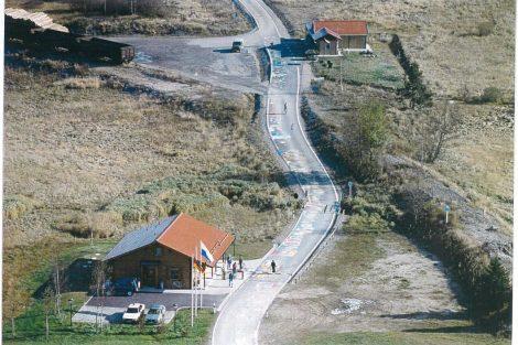 Nové Údolí v roce 1990 po pádu železné opony. Pramen: archiv Pavla Kosmaty