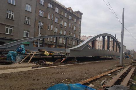 Nový most přes Moravu v Olomouci. Foto: Eva Ženčáková