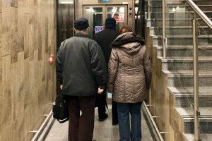 Nový výtah ve stanici metra Opatov. Autor: Daniel Šabík/DPP