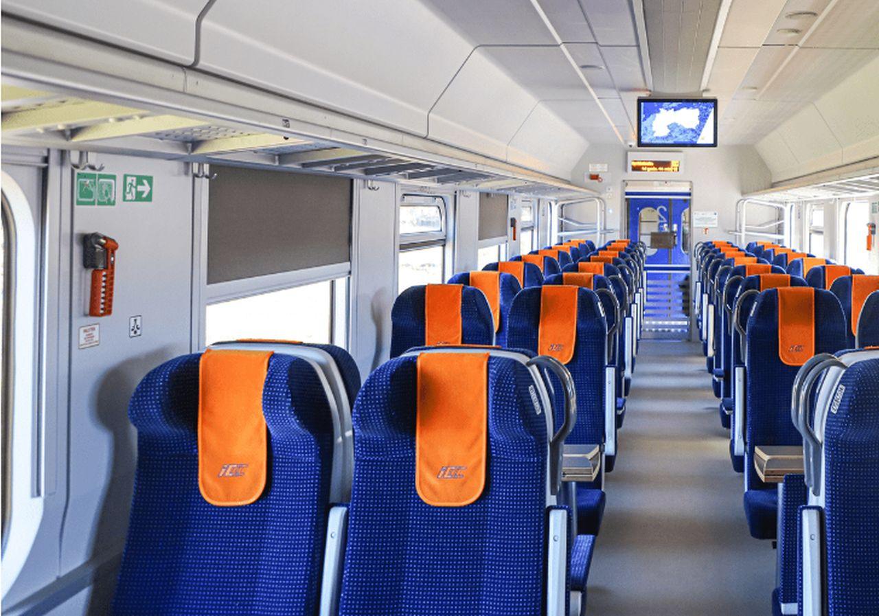 Modernizovaný vůz PKP Intercity. Foto: PKP Intercity