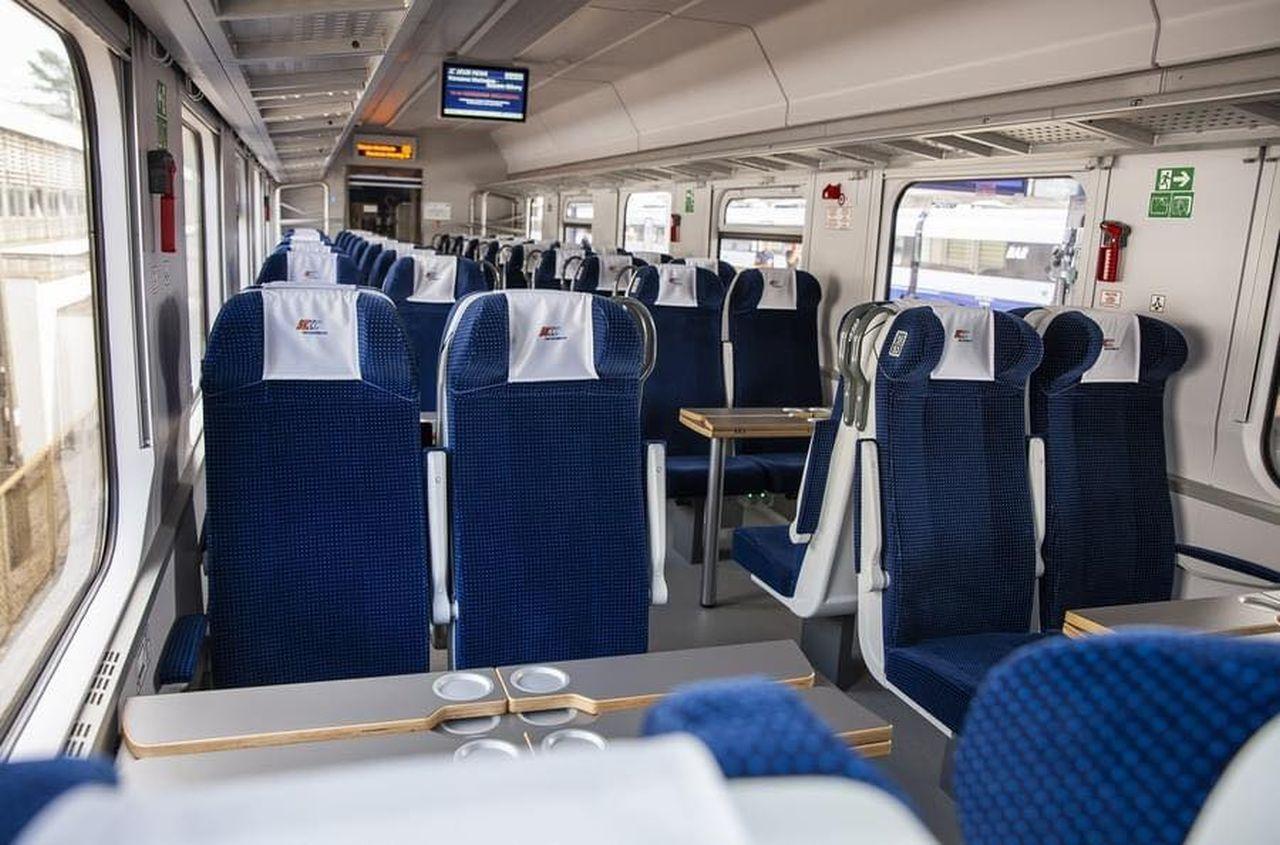 Vozy pro PKP Intercity po modernizaci. Foto: PKP Intercity