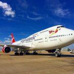 Boeing 747-400 v barvách Virgin Atlantic
