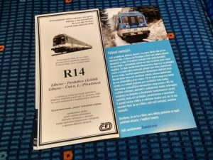 Rozloučení s cestujícími na rychlících R14 v podání neznámých zaměstnanců ČD. Foto: Tomáš Hádek