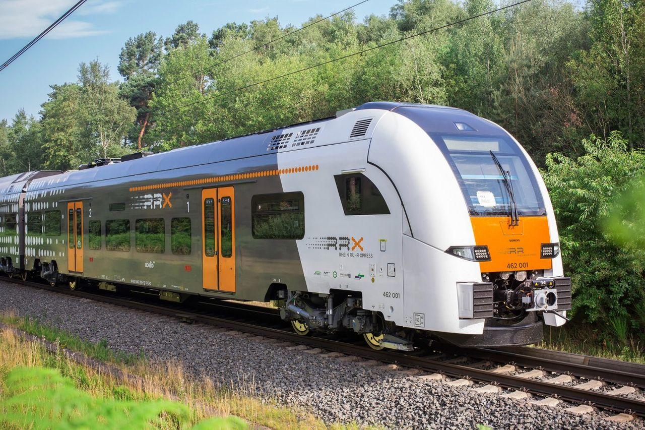 Jednotka Siemens Desiro HC pro Rhein-Ruhr Express (RRX). Foto: Siemens