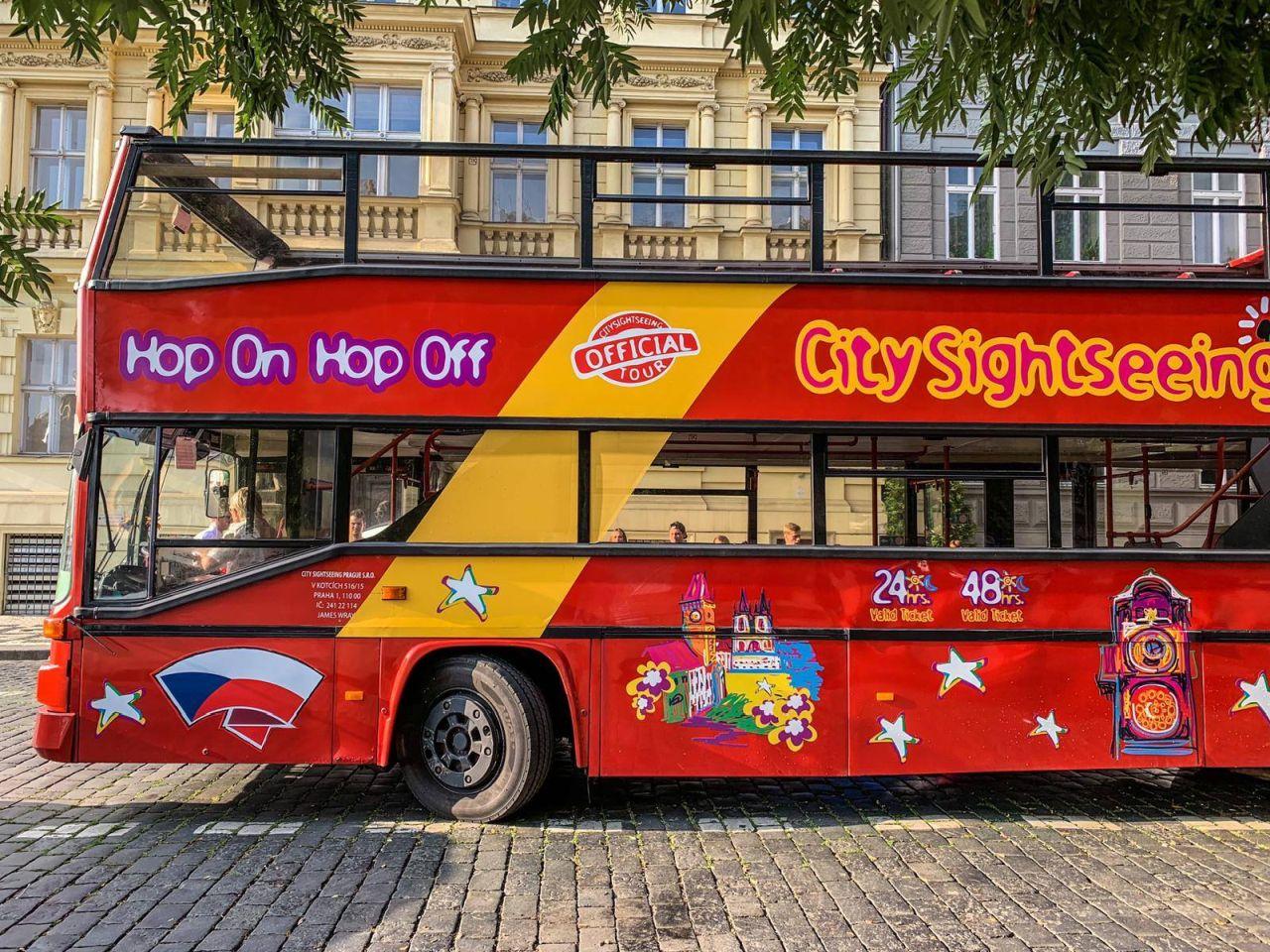 Autobus City Sightseeing Prague. Foto: FB City Sightseeing Prague