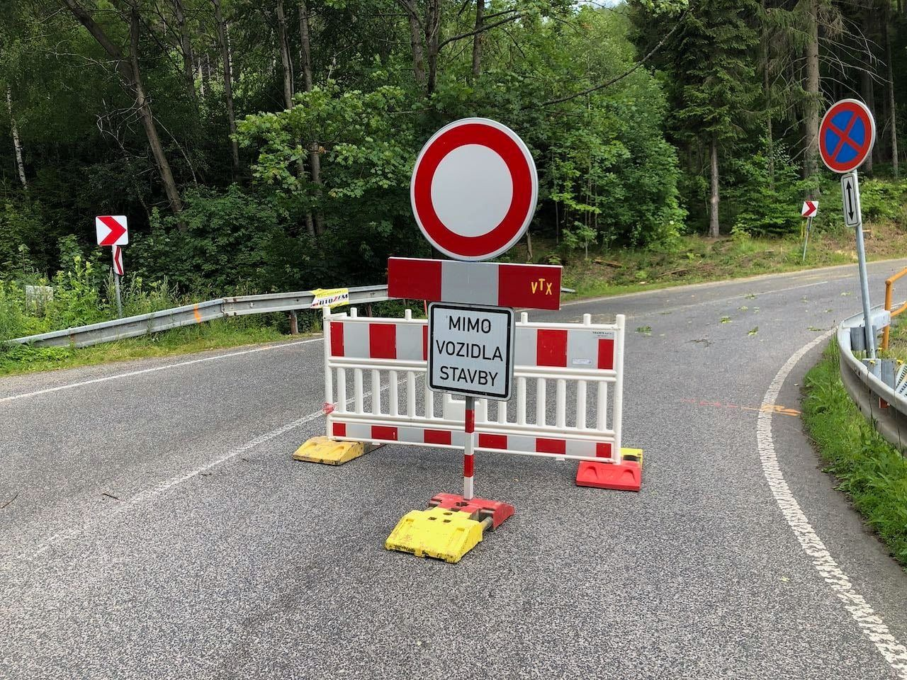 Silnice z Liberce na Výpřež. Foto: FB Jaroslava Zámečníka