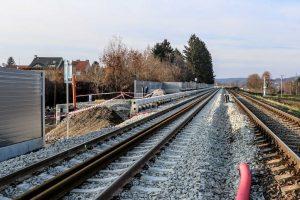 V Ostopovicích vznikne nová zastávka. Foto. Správa železnic
