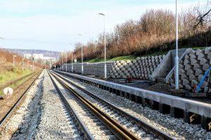 V Troubsku bude nové nástupiště. Foto: Správa železnic