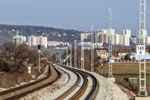 Rekonstrukce trati Brno - Zastávka u Brna. Foto: Správa železnic