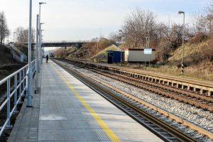 Úprava zastávky Střelice dolní. Foto: Správa železnic