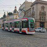 Tramvaj EVO 1/o v Olomouci. Foto: DPMO