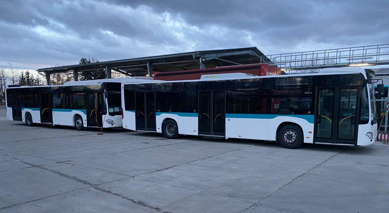 Autobusy pro MHD Jablonec. Foto: Umbrella
