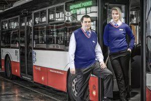 Nové uniformy pro zaměstnance Dopravního podniku města Brna. Foto: DPMB