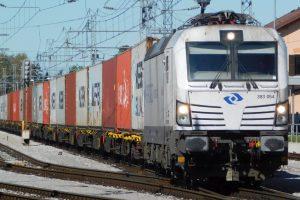 Vlak PKP Cargo Int. Pramen: PKP Cargo Int.