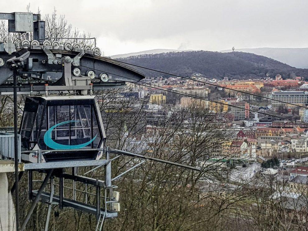 Lanovka na Větruši. Foto: Jan Sůra / Zdopravy.cz