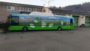 Autobus SOR NBG 12 pro ČSAD Vsetín. Foto: ČSAD Vsetín