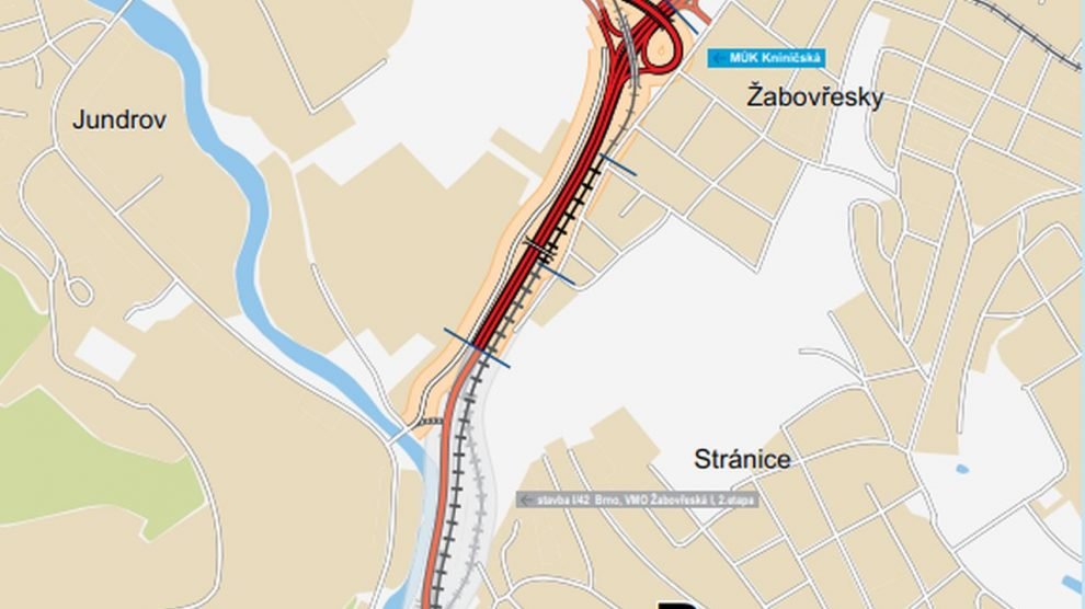 I. etapa Žabovřeské. Foto: ŘSD