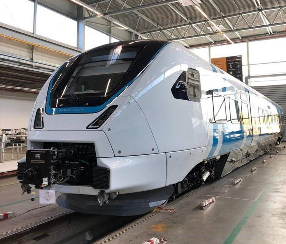 První vyrobená jednotka Zefiro Express. Foto: Bombardier