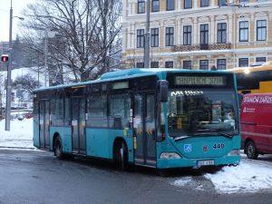Autobus Mercedes-Benz Citaro na terminálu MHD v Liberci. Foto: Petr Dvorský