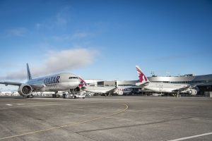 Boeing 777F v barvách Qatar Airways Cargo. Foto. Qatar Airways Cargo
