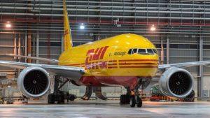 Boeing 777F v barvách DHL: Foto: Boeing