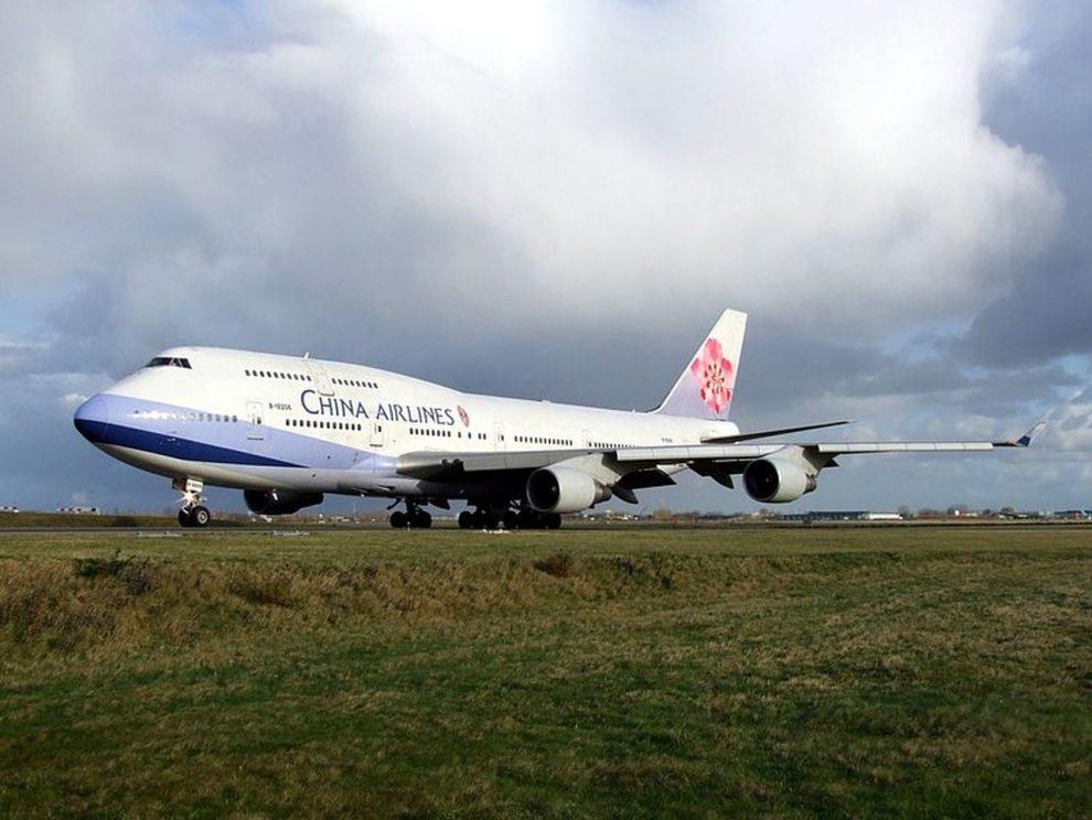 Boeing 747-400 společnosti China Airlines. Foto. AlfvanBeem, CC0, via Wikimedia Commons