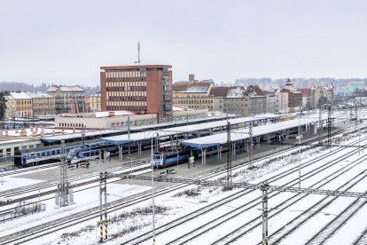 Stanice Cheb po rekonstrukci. Pramen: Správa železnic