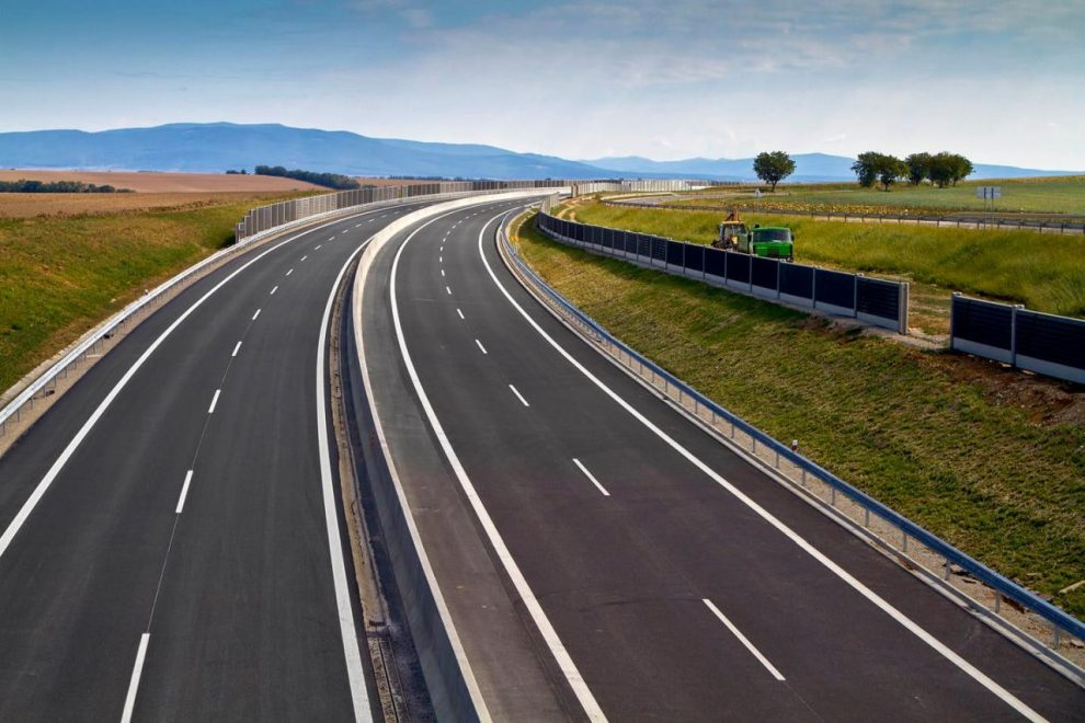 Dálnice D8 u Lovosic. Foto: Eurovia