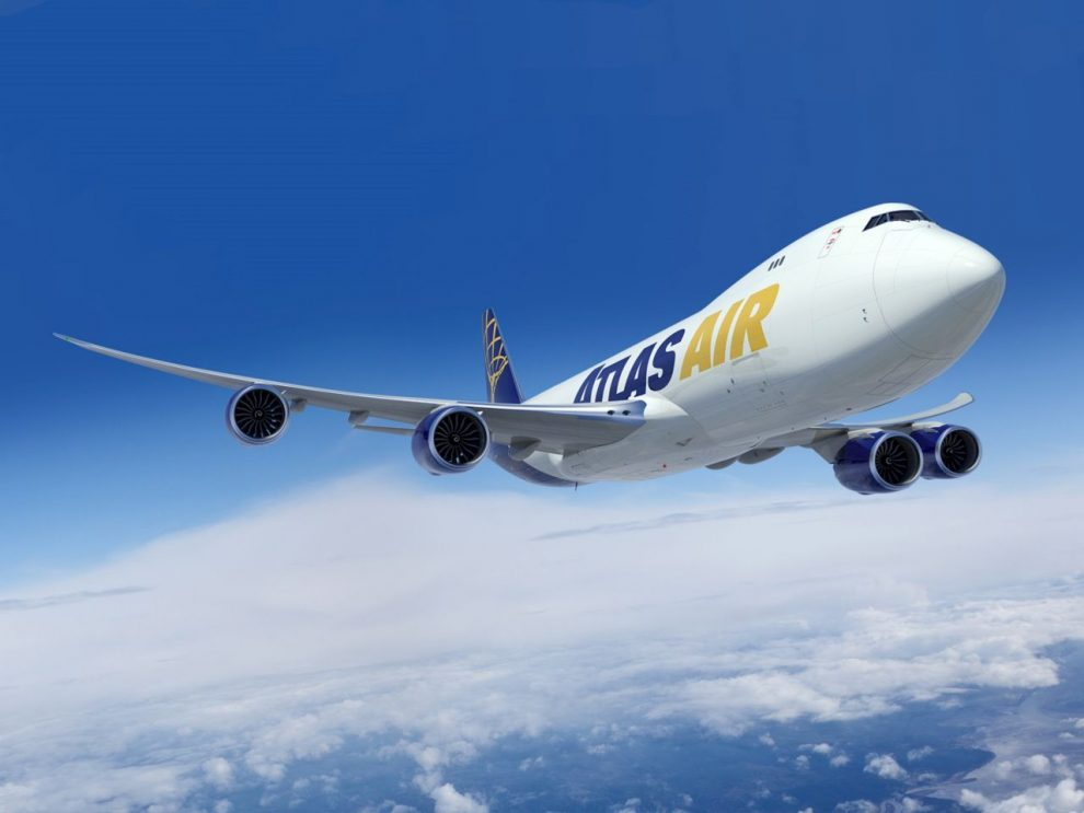 Boeing 747-8F v provedení pro Atlas Air. Foto: Boeing