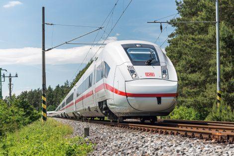Vysokorychlostní jednotka ICE4 společnosti Deutsche Bahn. Pramen: Siemens Mobility