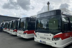 Autobusy ČSAD MHD Kladno. Pramen: Město Kladno