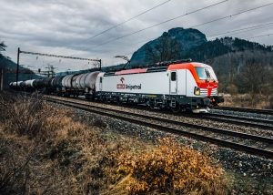 Nová lokomotiva Siemens Vectron MS společnosti Unipetrol Doprava. Pramen: Unipetrol