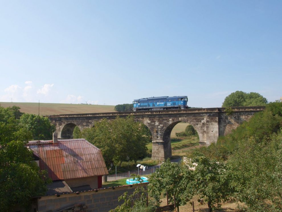 Viadukt Podlešín. Foto: Honza Groh (Jagro) / Wikimedia Commons