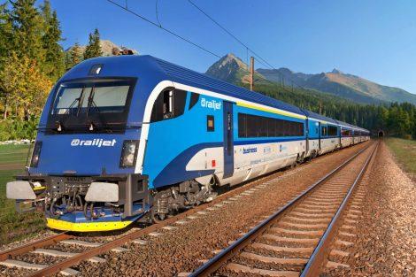 Railjet Českých drah. Pramen: Siemens