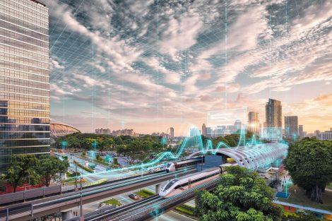 Udržitelná mobilita je založena na kooperaci a komplementárnosti jednotlivých druhů dopravy. Pramen: Siemens