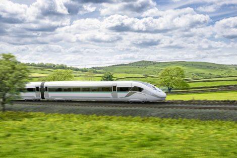 Moderní železnice dokáže přepravovat osoby a věci rychle, sminimální spotřebou energie a bez emisí. Pramen: Siemens