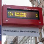 Nový označník vídeňské MHD. Pramen: Wiener Linien