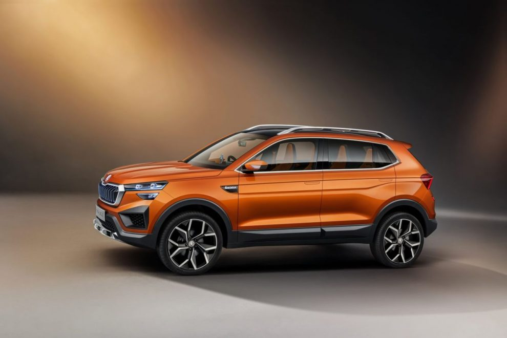 Koncept SUV pro Indii pod názvem Vision IN. Foto: Škoda Auto