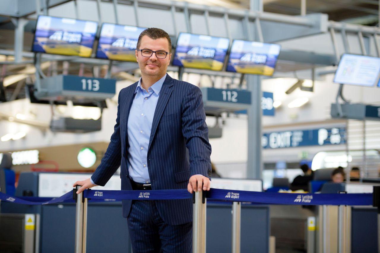 Václav Řehoř, předseda představenstva Letiště Praha. Foto: LP