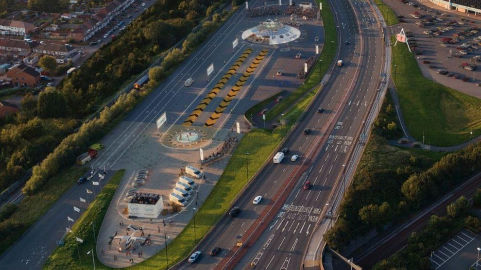 """Podoba nového """"letiště"""" v Coventry. Foto: Air One"""