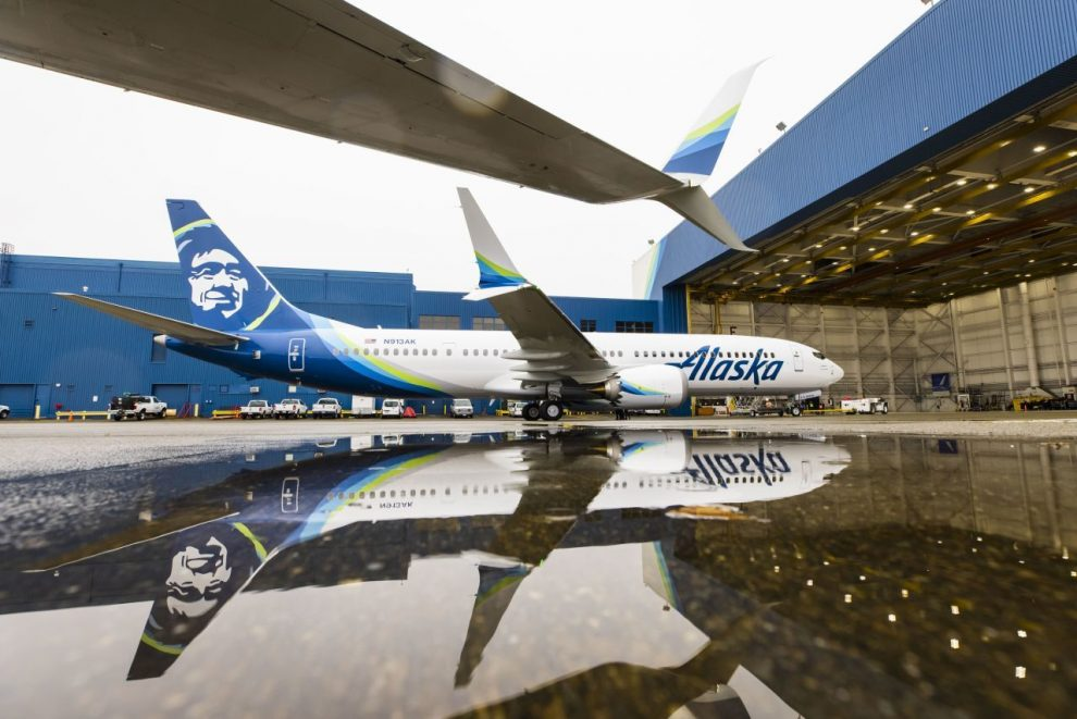Boeing 737 MAX 9 v barvách Alaska Airlines. Foto: Alaska Airlines