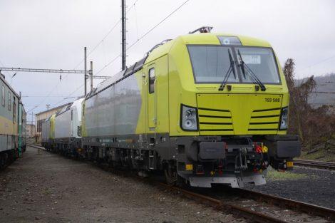 Lokomotivy Siemens Vectron pro ČD Cargo. Foto: ČDC