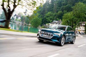 Audi e-tron se stalo v roce 2020 nejprodávanějším vozem v Norsku. Foto: Audi