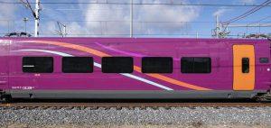 Jednotky Talgo 112 v barvách značky Avlo. Foto: Renfe